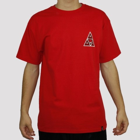 Camiseta Huf Spitfire - Red