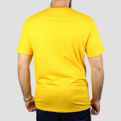 Camiseta HUF Type - Amarelo