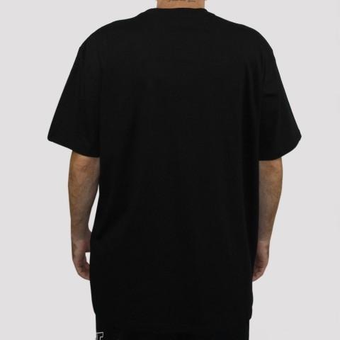 Camiseta Huf Untitled - Preto