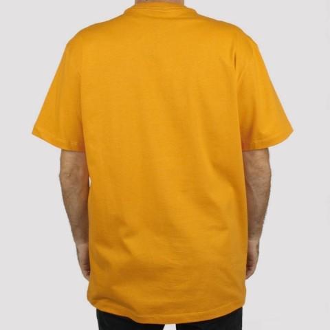 Camiseta Huf Woz Multicolor - Orange/ Laranja