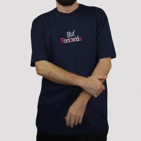Camiseta Huf Woz - Navy/ Marinho