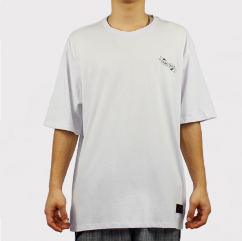 Camiseta Levis Hand Work - Branca