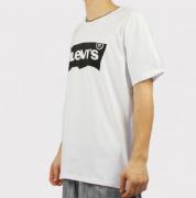 Camiseta Levis Logo - Preto/Branca