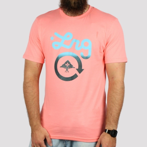 Camiseta LRG Cycle - Coral
