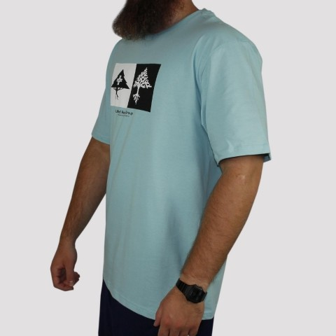 Camiseta LRG Double - Azul Claro