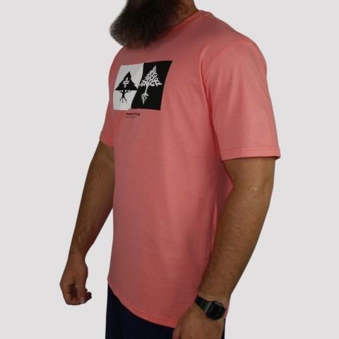Camiseta LRG Double - Coral