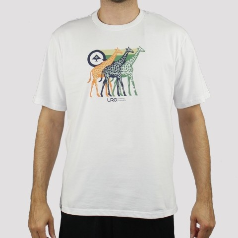 Camiseta LRG Great - Branco