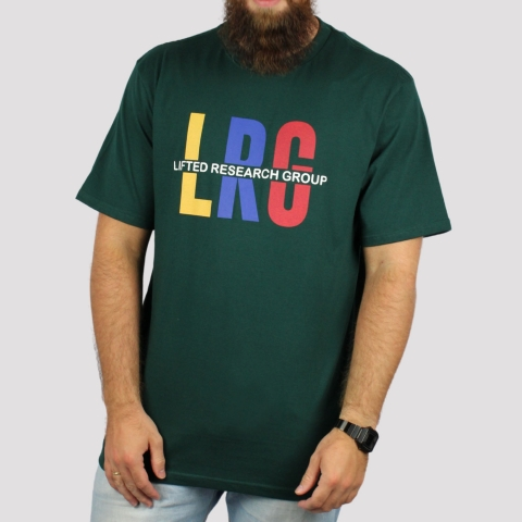Camiseta LRG Lifted - Verde