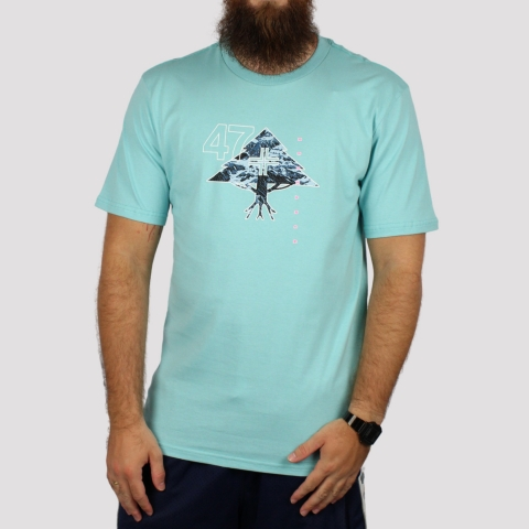 Camiseta LRG Mountain - Azul Claro