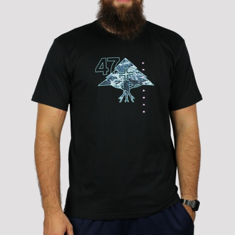 Camiseta LRG Mountain - Preto