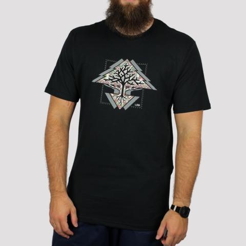 Camiseta LRG Roots Tree - Preto