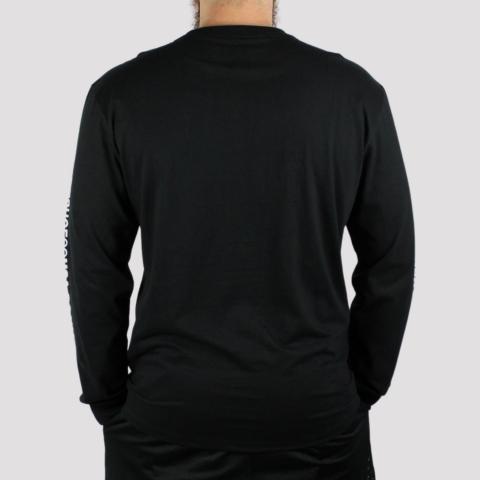 Camiseta Manga Longa DC Shoes Star Sleeve - Preta
