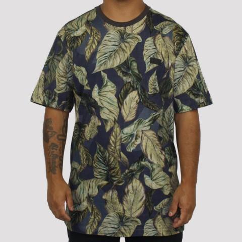 Camiseta MCD Especial Full Atlantic Florest - Azul/Verde/Marrom