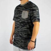 Camiseta MCD Especial Full Camuflada Preta
