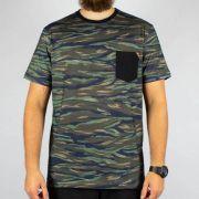 Camiseta MCD Especial Full - Camuflada/Azul/Preto