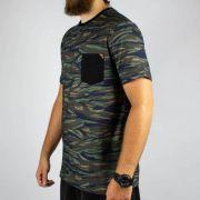 Camiseta MCD Especial Full Camuflage Azul Horizonte