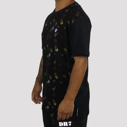 Camiseta MCD Especial Neon - Preta