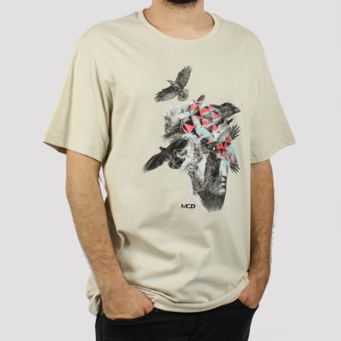 Camiseta MCD Regular Art Heao Brids Calcario