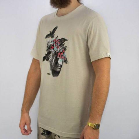 Camiseta MCD Regular Art Heao Brids Calcario