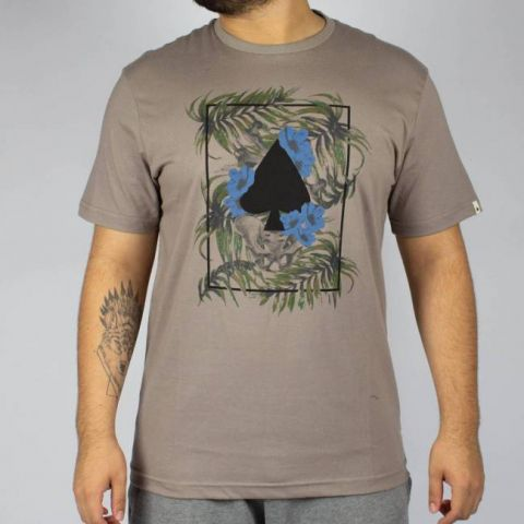 Camiseta MCD Regular Tropical Bones Taupe