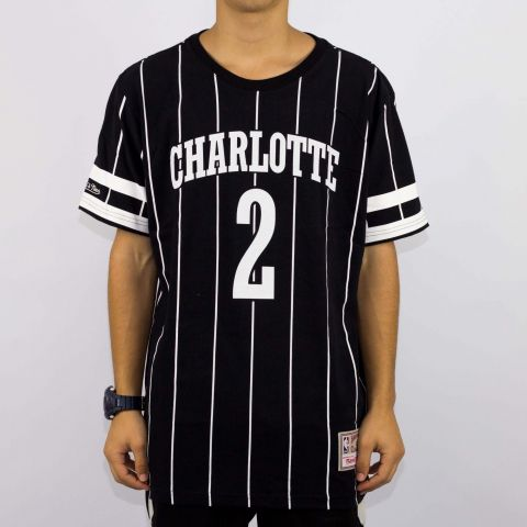Camiseta Mitchell & Nells Charlotte Number 2 - Preta/Branca