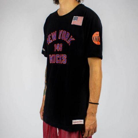 Camiseta Mitchell & Ness New York - Preta
