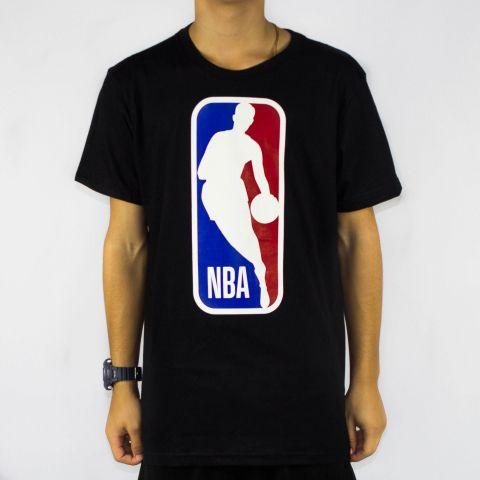 Camiseta NBA Big Logo Man - Preta