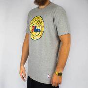 Camiseta NBA Est Wool PHI76E Cinza Mescla