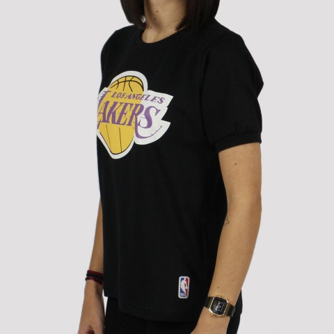 Camiseta NBA Feminina Lakers - Preto
