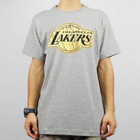 Camiseta NBA Los Angeles Lakers - Cinza