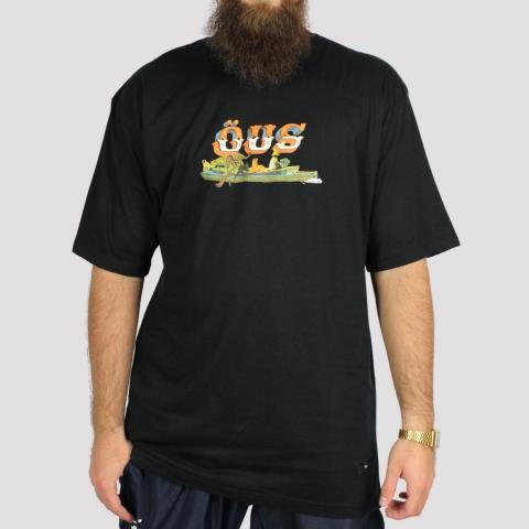 Camiseta ÖUS Fuga - Preto