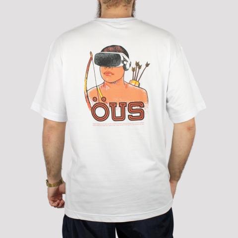 Camiseta ÖUS Índio Hi Tech - Branco