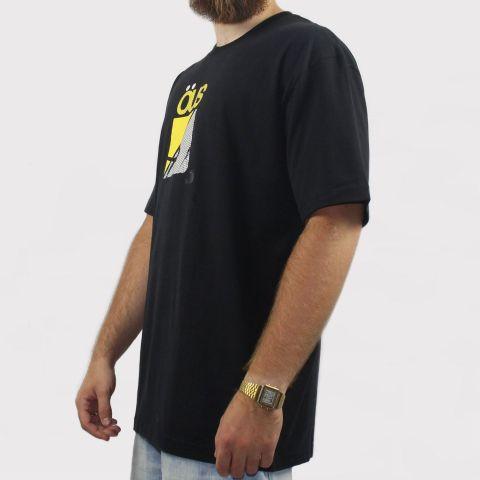 Camiseta Öus Logo Gato Preto - Preto