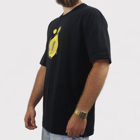 Camiseta Öus O Gato Preto - Preto