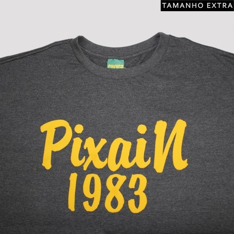 Camiseta Pixa In 1983 - Mescla Escura