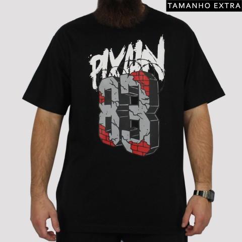 Camiseta Pixa In Arame Farpado Rua 83 - Preta