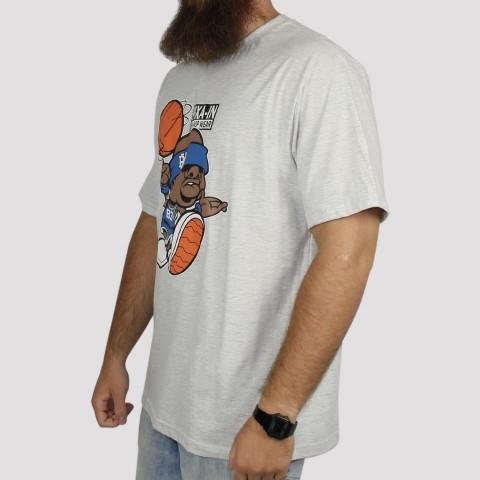 Camiseta Pixa In Basket - Cinza Mescla Claro