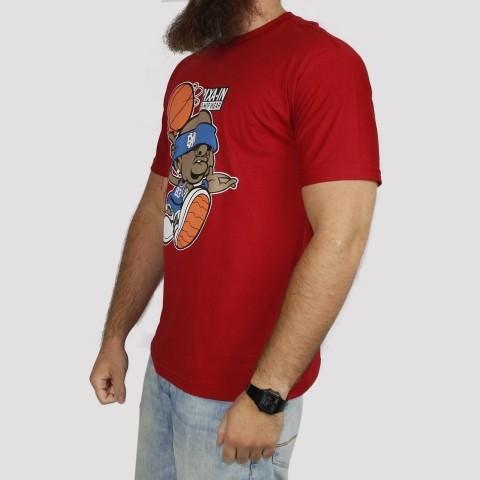 Camiseta Pixa In Basket - Vermelha