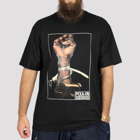 Camiseta Pixa In Black Power - Preto