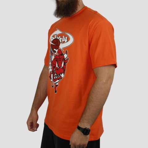 Camiseta Pixa In Bulls - Laranja