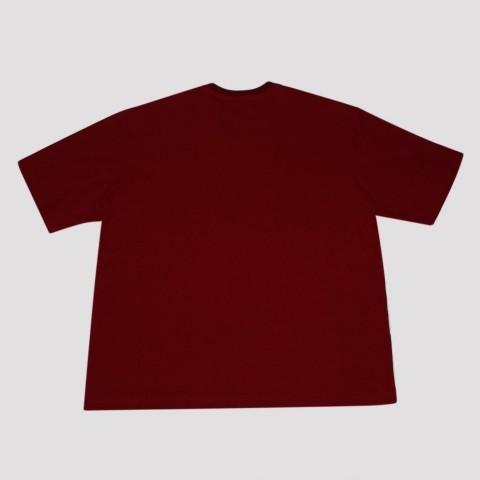 Camiseta Pixa In Caligrafia (Tamanho Extra) - Vermelha