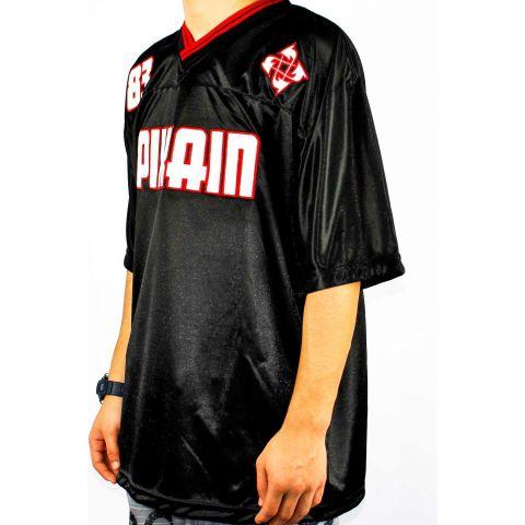 Camiseta Pixa In Especial 83 - Preto/Branco/Vermelho