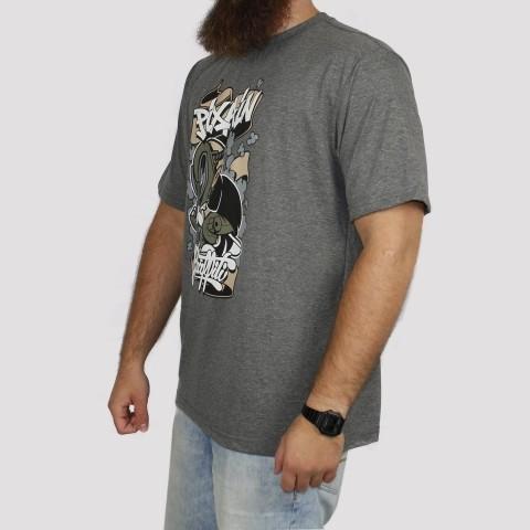 Camiseta Pixa In Grafite Boy - Mescla Escuro