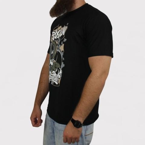 Camiseta Pixa In Grafite Boy - Preta