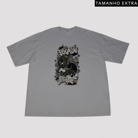 Camiseta Pixa In Grafite Boy (Tamanho Extra) - Branca