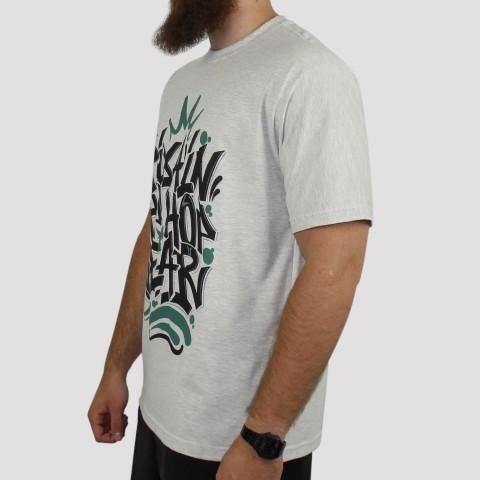 Camiseta Pixa In Hip Hop Wear - Cinza Mescla Claro