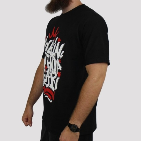 Camiseta Pixa In Hip Hop Wear - Preto