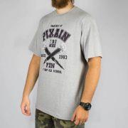 Camiseta Pixa In Mic Cinza (Tamanho Especial)