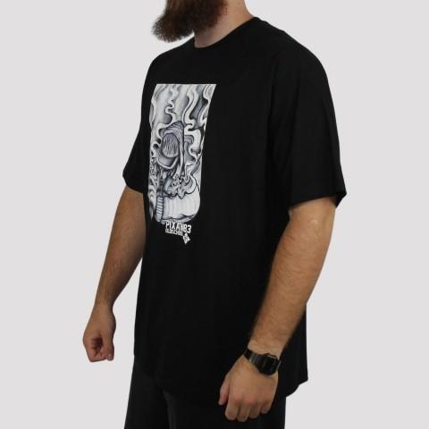 Camiseta Pixa in Old School Grafiteiro (Tamanho Extra) - Preta