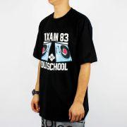 Camiseta Pixa In Old School Pick UP DJ - Preta
